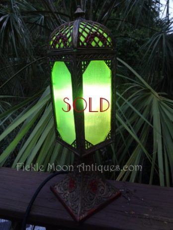 SOLD*****Art Nouveau Antique Boudoir Lamp