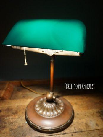 Emeralite Banker's Lamp