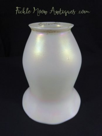 Quezal Art Glass Shade (1) Free Shipping