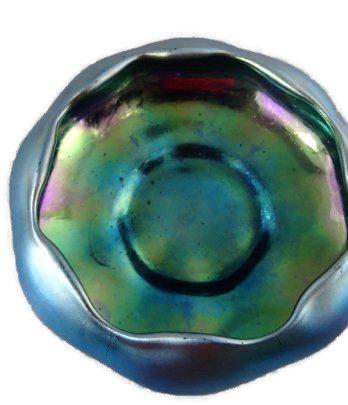Steuben Aurene Glass Bowl