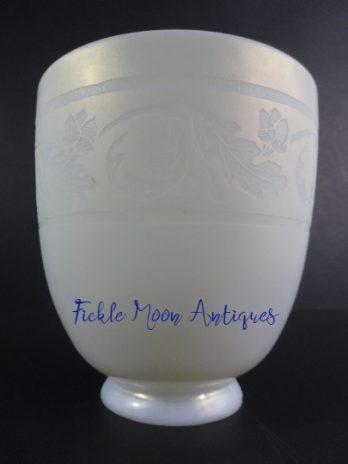Steuben Art Glass Shade Oak Leaf & Acorn Motif