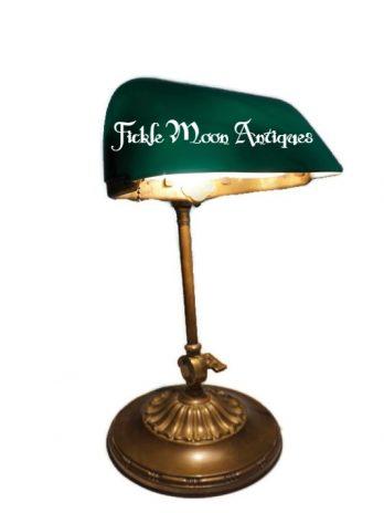 Emeralite H.G. McFaddin Banker's Lamp