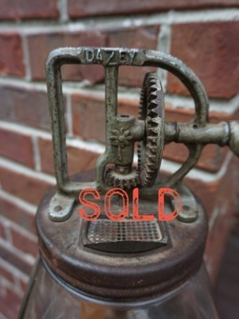 SOLD***  Dazey No. 40 Butter Churn