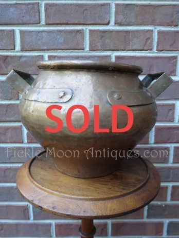 SOLD***  Copper Jardiniere