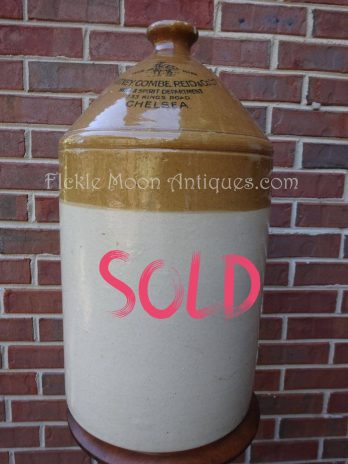 SOLD*** Watney Combe Reid & Company Five Gallon Crock Chelsea London Brewery