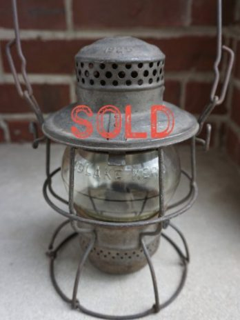 SOLD*** Armspear Manufacturing Company Railroad Lantern Macbeth