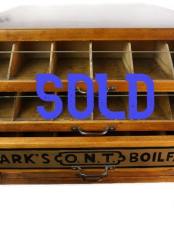 SOLD***Clark's O.N.T. Spool Sewing Cabinet Storage Cabinet Jewelry Cabinet