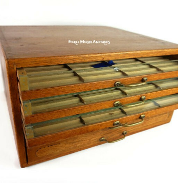Clark's ONT Sewing Spool Storage Cabinet